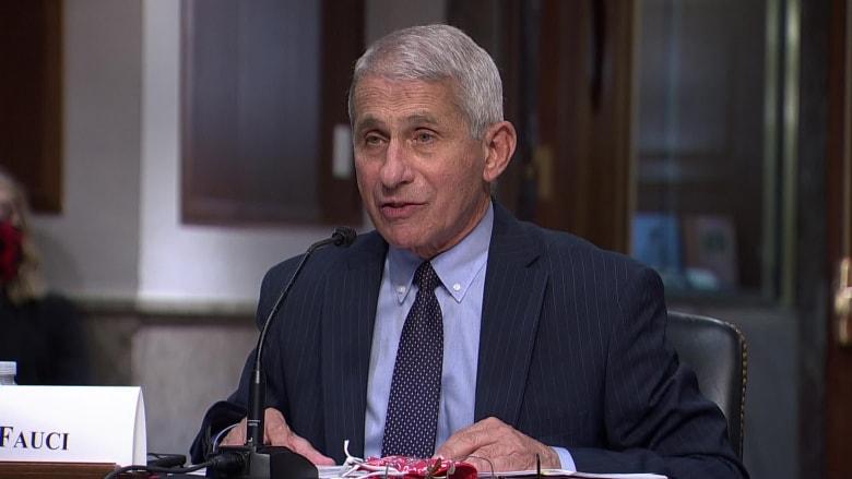 الدكتور فاوتشي: إصابات فيروس كورونا في أمريكا قد تصل إلى 100 ألف حالة يوميا