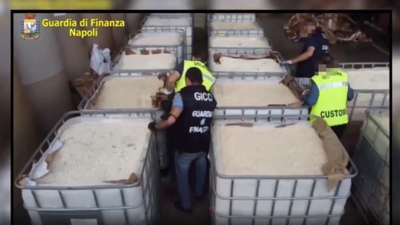 قيمتها مليار يورو.. إيطاليا تصادر14 طناً من الكبتاغون أنتجها داعش في سوريا