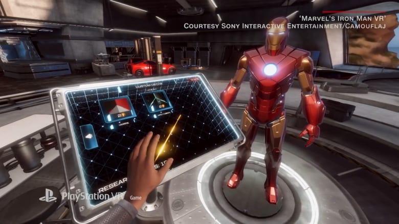 """""""أيرون مان"""" في لعبة واقع افتراضي جديدة عبر PlayStation"""
