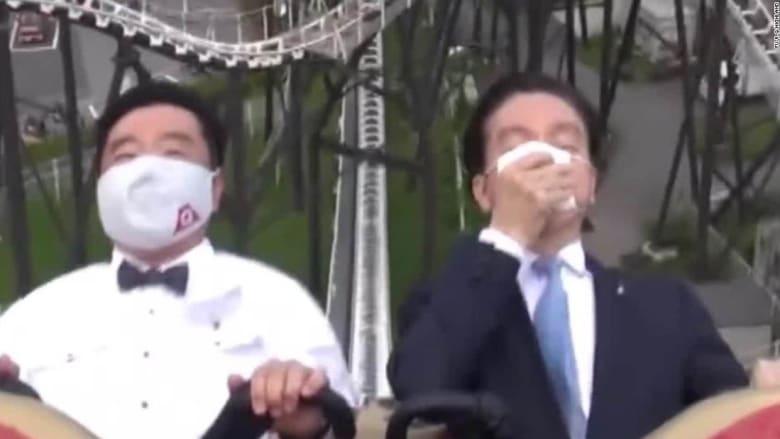 منتزه ياباني يمنع الصراخ في لعبة قطار الموت.. إليكم السبب
