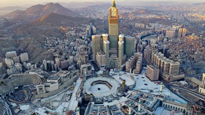 الشمس تتعامد على الكعبة بمكة في السعودية للمرة الأخيرة لعام 2020