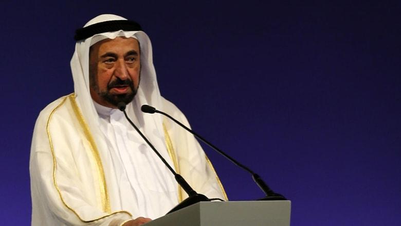 صورة أرشيفية للشيخ سلطان القاسمي حاكم الشارقة
