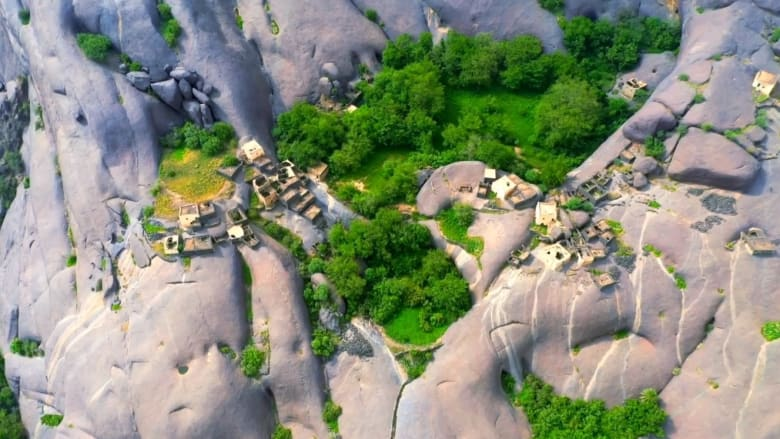 قرية غيّه في السعودية - المصور السعودي حسن الحريصي