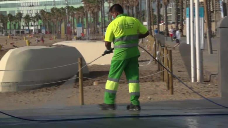 مع موجة جديدة من حالات الإصابة.. تفشي كورونا في برشلونة هو تحذير للمدن الأخرى حول العالم