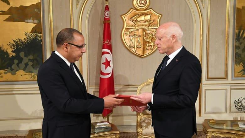 الرئيس التونسي يكلف وزير الداخلية هشام مشيشي بتشكيل الحكومة الجديدة