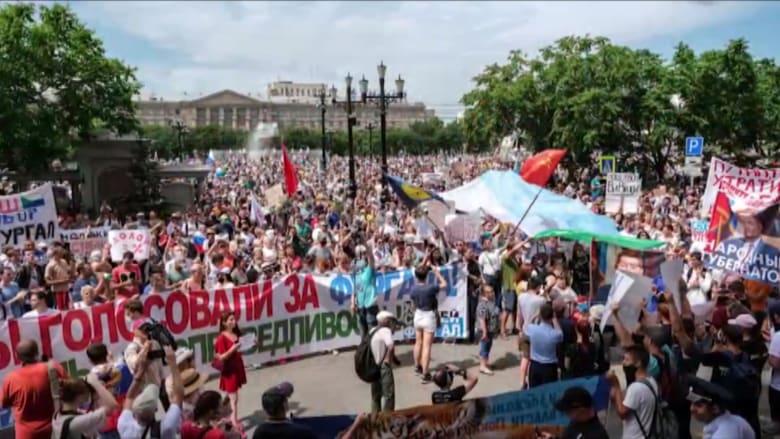 للأسبوع الثالث.. لماذا يتظاهر الشعب الروسي ضد الكرملين؟