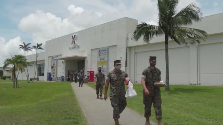 CNN في قاعدة أمريكية باليابان وسط مخاوف من أزمة بسبب تفشي كورونا