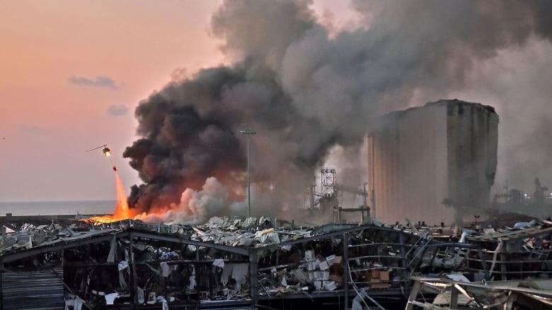 مراسل شبكتنا بن وديمان ينقل تقريراً من مكتب CNN المحطم في بيروت