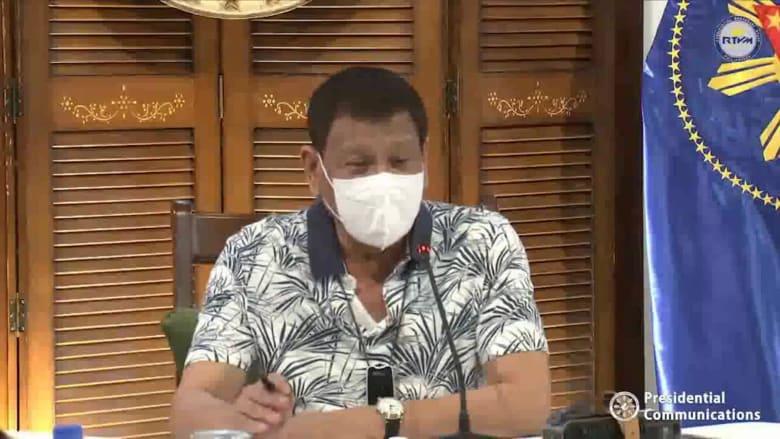الرئيس الفلبيني دوتيرتي: سأتطوع للحصول على لقاح فيروس كورونا من روسيا