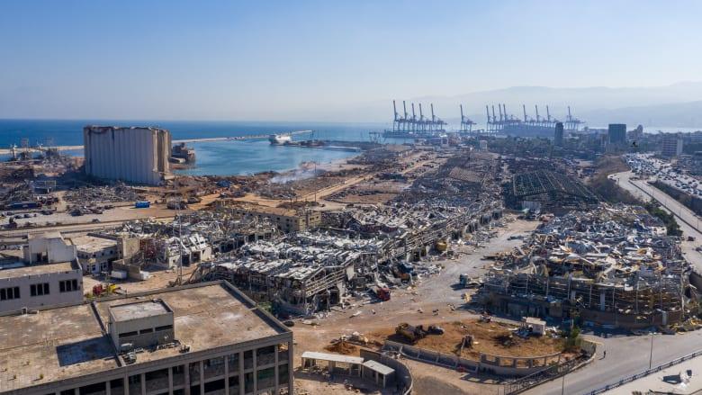 بعد أسبوع منذ الانفجار.. عودة التصدير البحري الزراعي عبر مرفأ بيروت