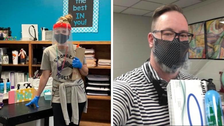 يعانون من نقص المناعة.. هكذا يستعد معلمان بأمريكا لأول أيام المدرسة