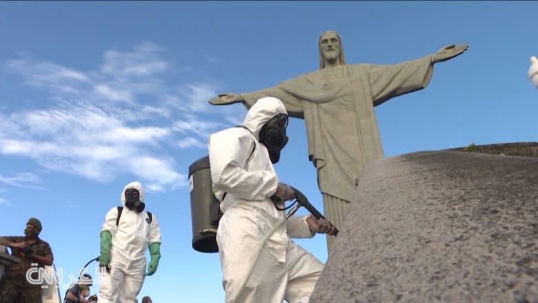 """البرازيل تعيد افتتاح أشهر معالمها السياحية بينها تمثال """"المسيح الفادي"""""""