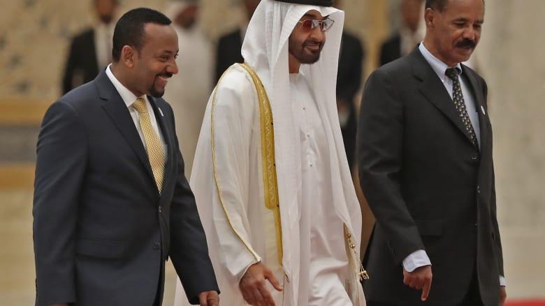 رئيس وزراء إثيوبيا يهنىء ولي عهد أبوظبي بمعاهدة السلام مع إسرائيل