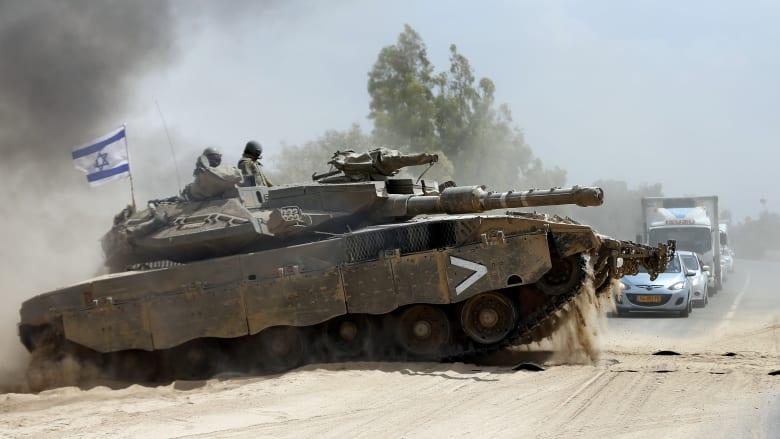 الجيش الإسرائيلي يعلن استهداف دباباته نقاط مراقبة لحماس في غزة