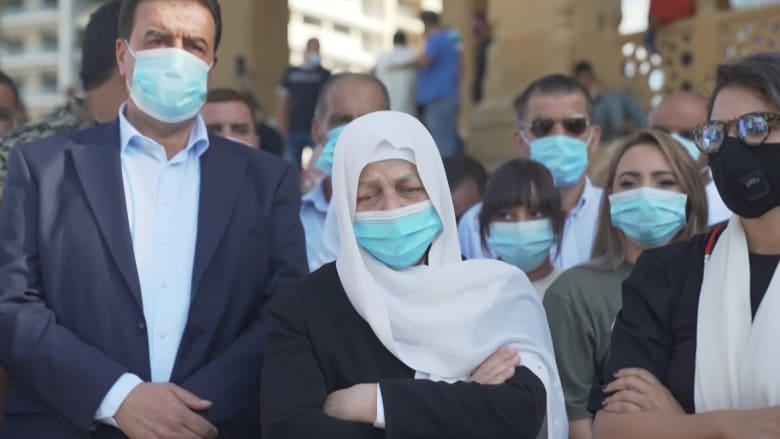 بهية الحريري تزور ضريح شقيقها مع إعلان الحكم في اغتياله