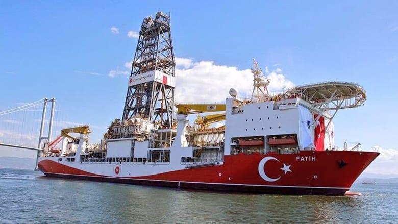 """سفينة الاستكشاف التركية """"فاتح"""""""
