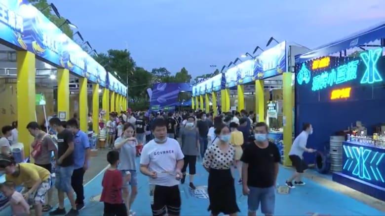 بعد إقامتها حفلة موسيقية ضخمة.. ووهان تنظم مهرجانا كبيرا للجعة
