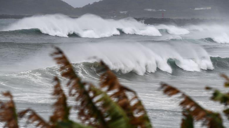 لثالث مرة في أقل من اسبوعين.. إعصار شديد يهدد اليابان وشبه الجزيرة الكورية