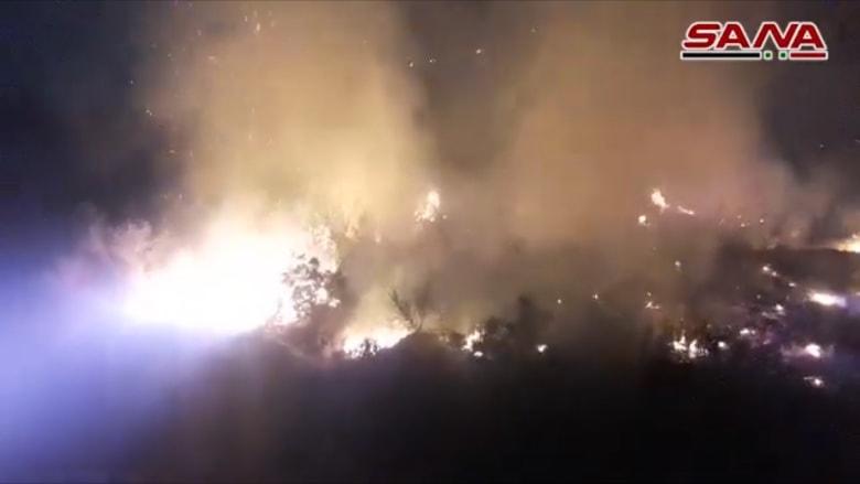 لقرابة اسبوع.. حرائق تجتاح مناطق متعددة بسوريا وجهود للسيطرة على النيران