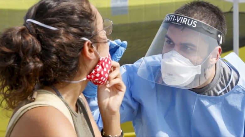 ارتفاع عدد حالات فيروس كورونا في إسرائيل وغزة