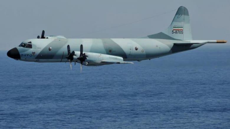 طائرة عسكرية إيرانية