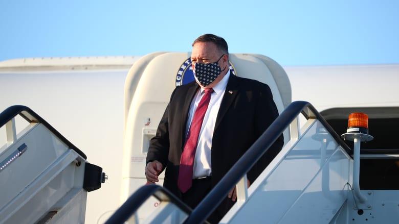 وزير الخارجية الأمريكي يصل قطر لحضور محادثات السلام الأفغانية