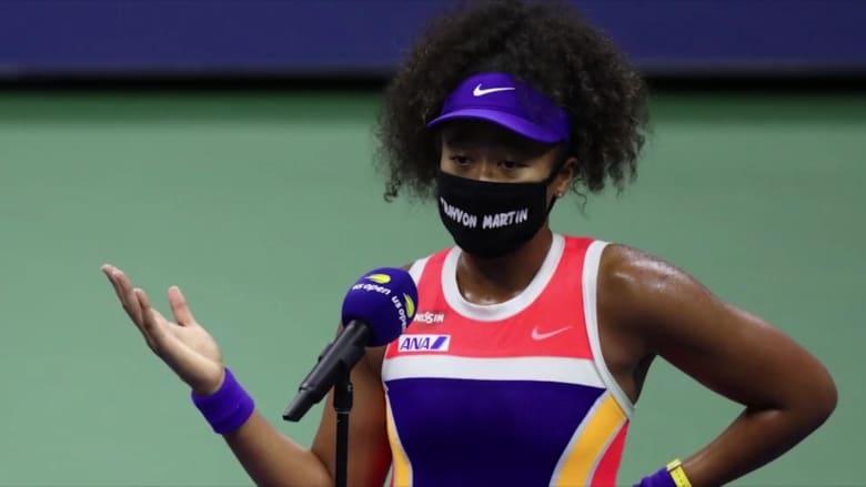 """هكذا كافحت بطلة أمريكا المفتوحة نايومي أوساكا """"الظلم العنصري"""""""