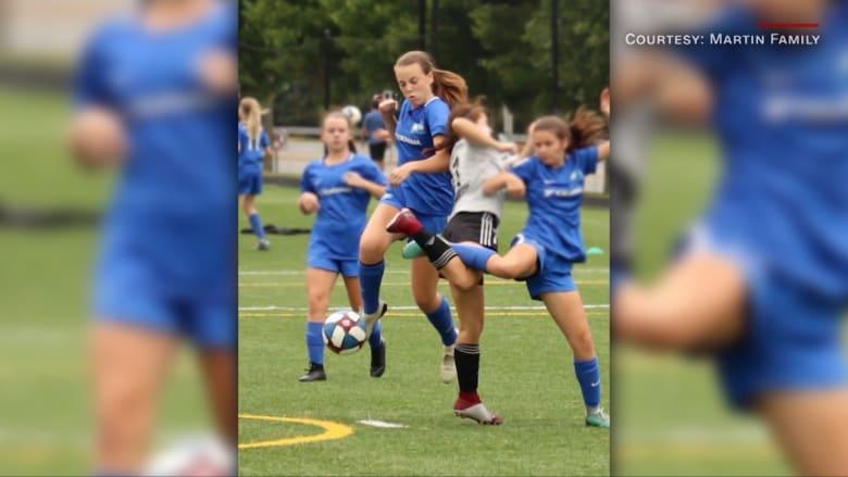كيف سمح التقدم في علاج سرطان الأطفال لهذه الفتاة بالعودة إلى ملعب كرة القدم بعد إصابتها بورم في الدماغ؟