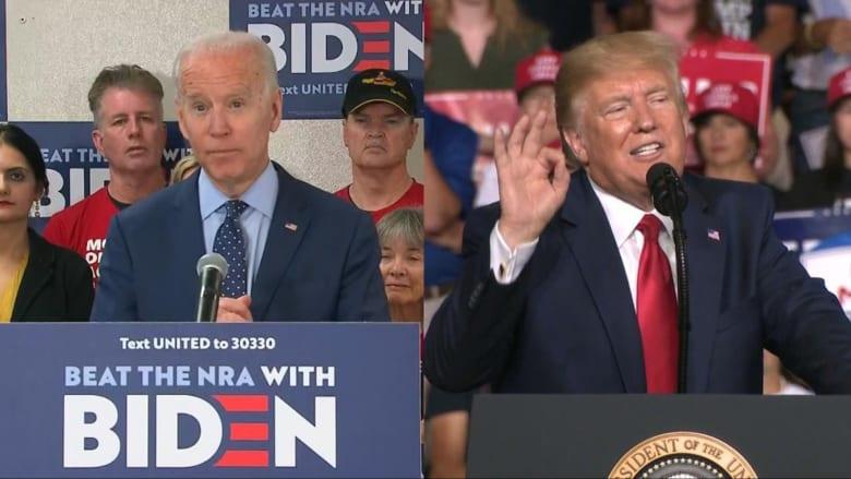 قانون حمل السلاح.. ما الفرق بين ترامب وبايدن حول القضية الجدلية؟