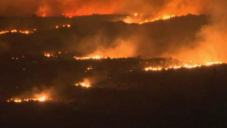 فيديو مرعب.. يُظهر كيف تبدو حرائق الغابات في ولاية أريزونا الأمريكية