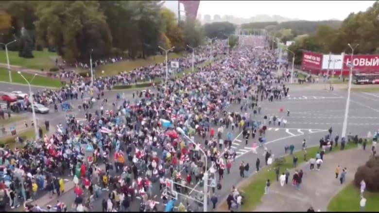 اشتباكات ومظاهرات غير مسبوقة في بيلاروسيا ضد الرئيس