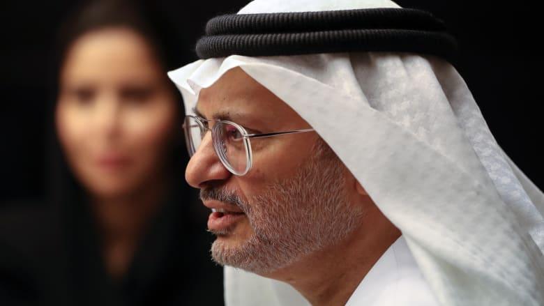 """ردا على تصريحات """"خطة غزو قطر""""... قرقاش: ما قاله العطية هذيان"""