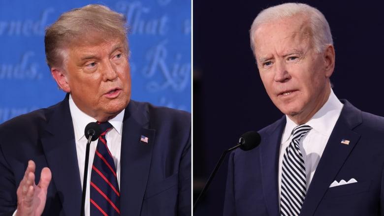 """""""هل لك أن تصمت يا رجل"""".. ترامب وبايدن يتراشقان الشتائم في أول مناظرة بينهما"""