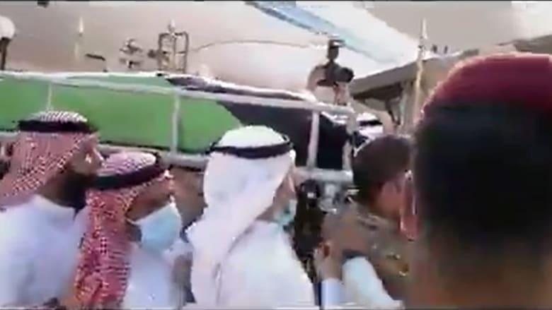 من مراسم تشييع جثمان أمير الكويت الراحل الشيح صباح الصباح