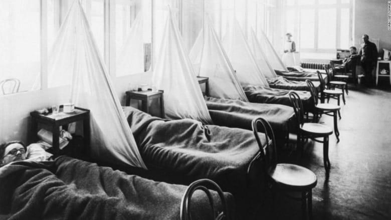 دراسة عن كيفية انتشار جائحة 1918 تكشف أوجه تشابه مخيفة مع أزمة كورونا الحالية