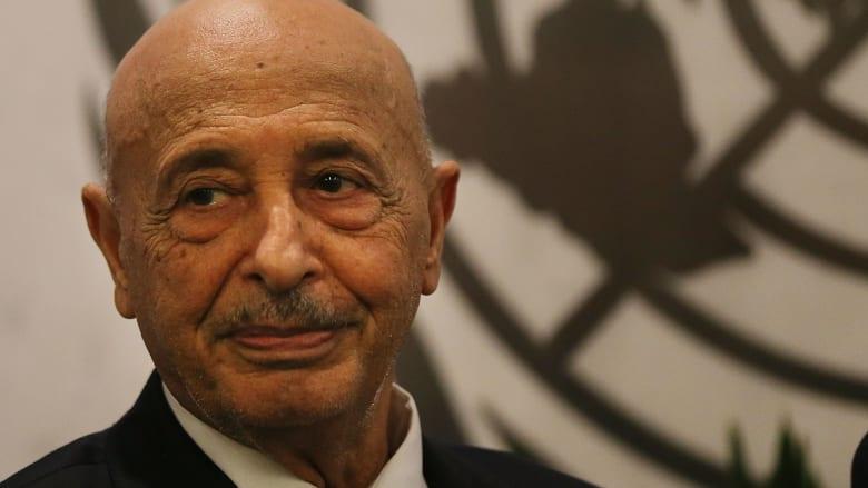 ليبيا.. الاتحاد الأوروبي يرفع اسم عقيلة صالح ونوري أبو سهمين من لائحة العقوبات