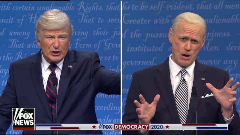 جيم كاري يجسد شخصية بايدن.. شاهد المناظرة الرئاسية المثيرة للجدل بنكهة ساخرة