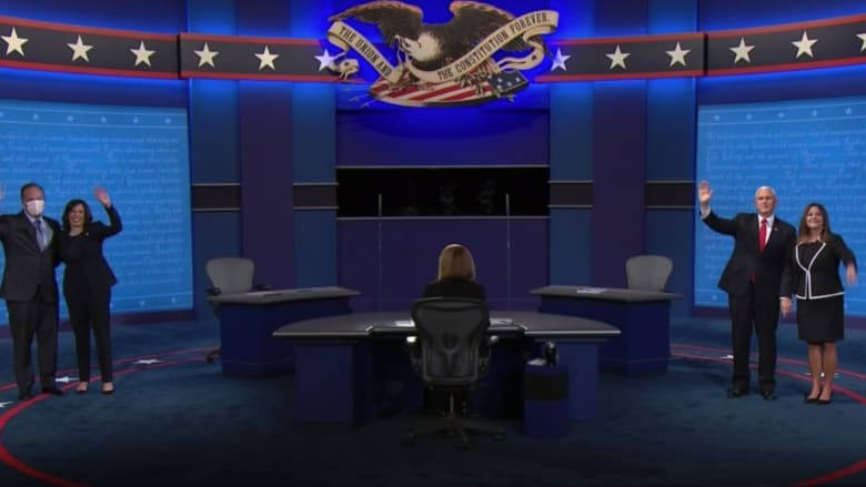 بنس أم هاريس.. من الفائز في مناظرة نائب الرئيس برأي عينة من المشاهدين؟