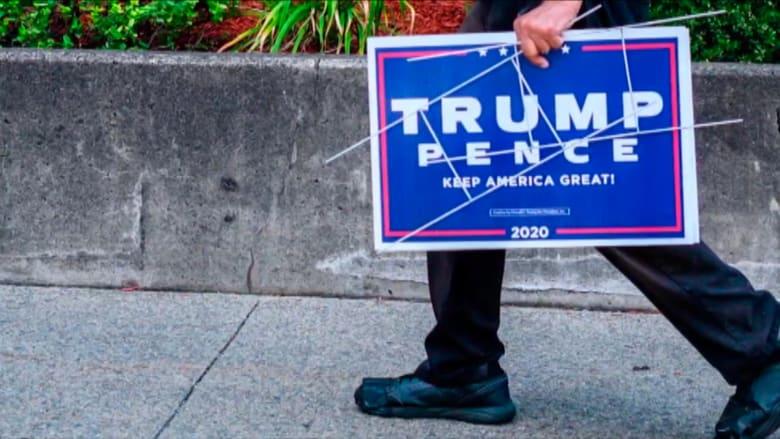 حملة ترامب تصدر أدلة لمراقبيها وسط قلق من إثارة الرئيس مخاوف الناخبين