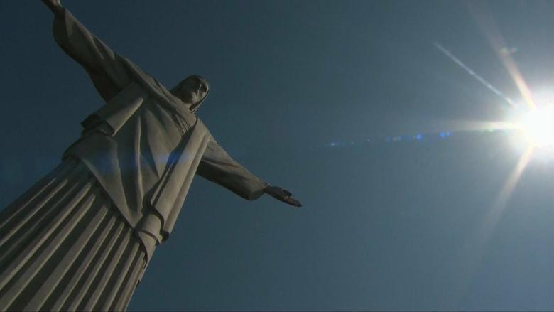 """في البرازيل.. تمثال """"المسيح الفادي"""" يحتفل بعيده الـ89"""