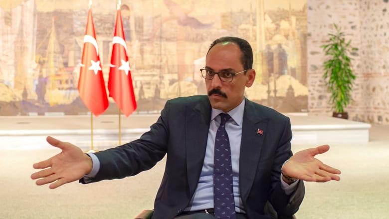 صورة أرشيفية للمتحدث باسم الرئاسة التركية، إبراهيم قالن