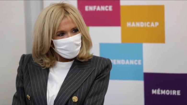 سيدة فرنسا الأولى تدخل الحجر الصحي بعد مخالطتها مصاباً بكورونا