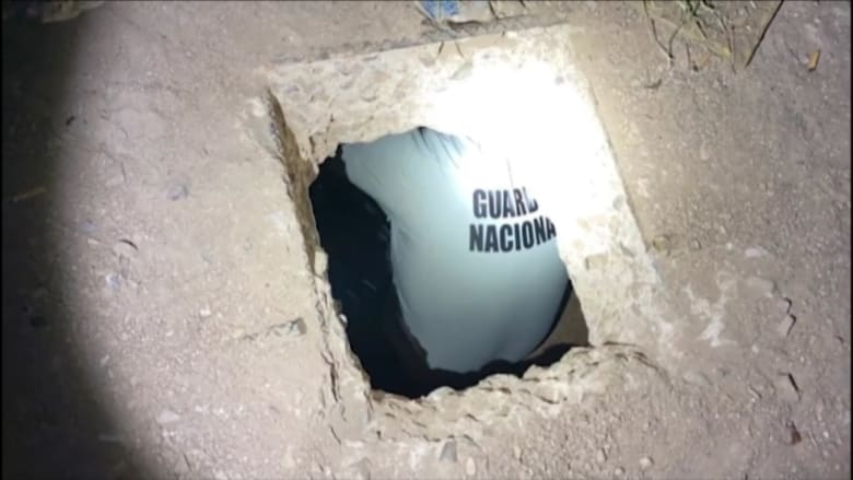 اكتشاف نفق بين أمريكا والمكسيك محتمل لتهريب الأسلحة والمخدرات