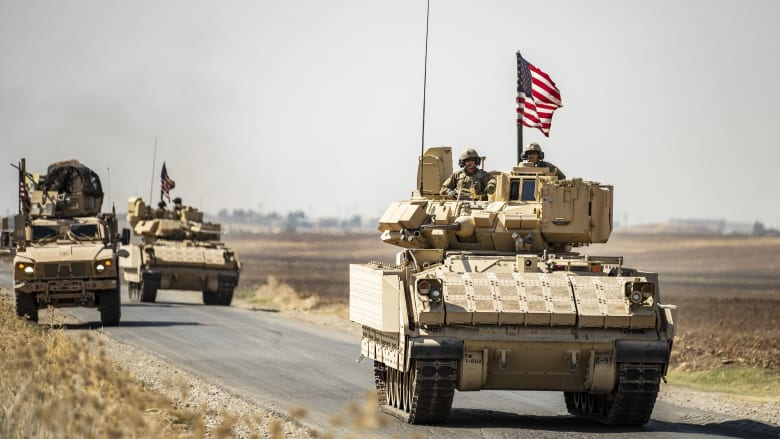 صورة أرشيفية لقوات أمريكية في سوريا