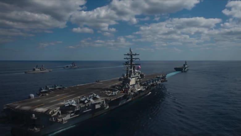 شاهد لحظة إطلاق مناورات عسكرية أمريكية يابانية