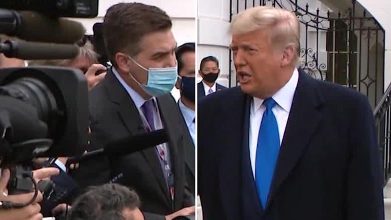 مراسل CNN يواجه ترامب مجدداً: هل أخطأت في التعامل مع كورونا؟.. هكذا رد