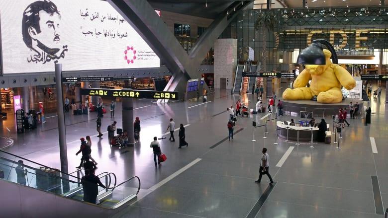 صورة ارشيفية داخل مطار حمد الدولي في الدوحة