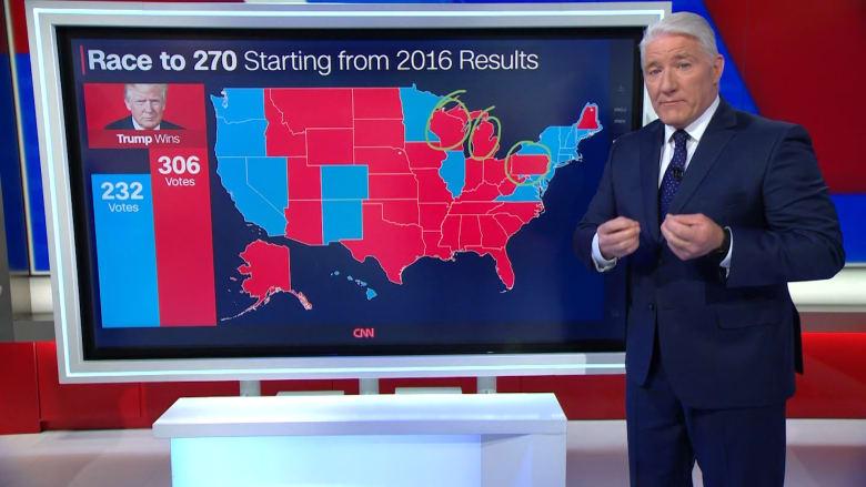 الطريق إلى 270 صوتاً.. هكذا يحاول ترامب إعادة انتخابه مجدداً رئيساً لأمريكا