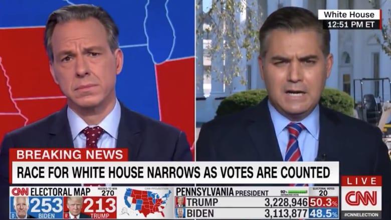 مراسل CNN: حملة ترامب بدأت تناقش إمكانية ترشحه في 2024