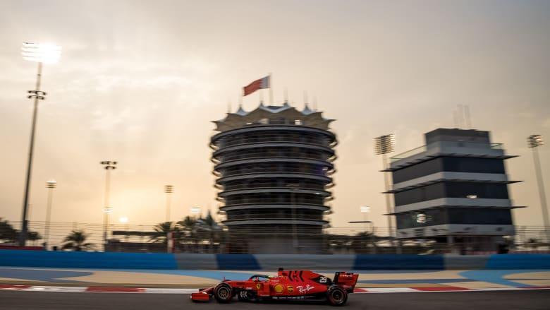 """البحرين تعلن إقامة سباق """"الفورمولا وان"""" بدون جمهور بسبب كورونا"""